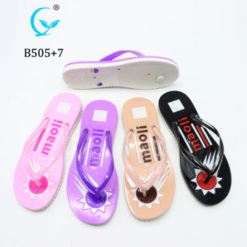 Best selling beach sandal / beach slipper / women flip flop