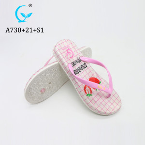 Wholesale cheap top quality custom made Jelly pvc sandals flip flop slippers
