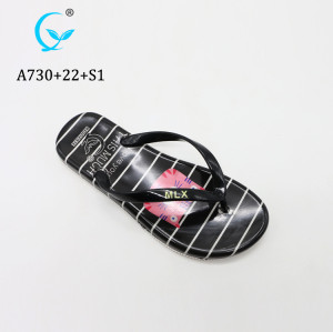 Cute Cartoon Jelly style Flip flops Summer beach pv sandals Cheap arabic slippers