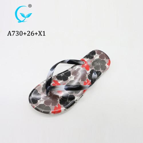 Wholesale lightweight comfort cheap flip flops lady sandal flat fancy slippers for girls