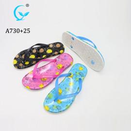 New arrival 2019 fashion beach cheap women rubber slippers flip flop Jelly sandal