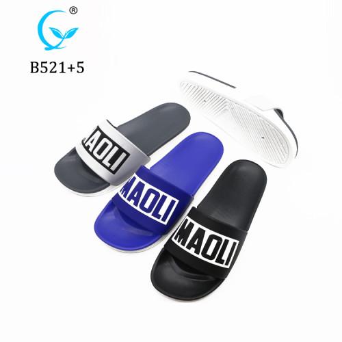 Hottest new models two-tone unicorn eva slippers pcu sandal soles