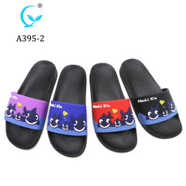 Cute cartoon Fashion New Model PCU Custom Slides Slippers plastic shoes
