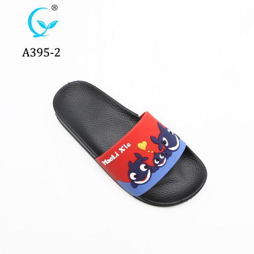 Cute cartoon Fashion New Model PCU Custom Slides Slippers plastic shoes