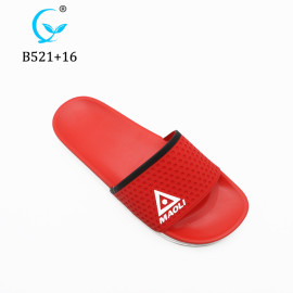 Hot PVC custom logo slippers slide sandal printing logo slippers