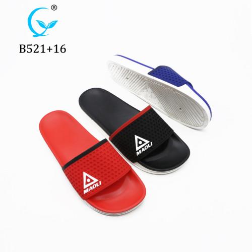 Hot PVC custom logo slippers slide sandal printing logo slippers