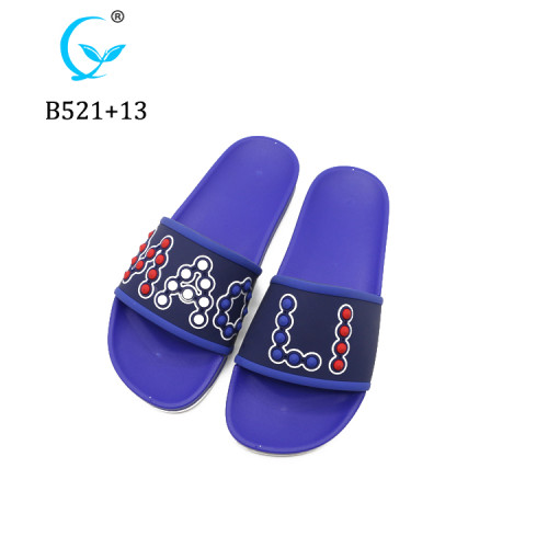 Wholesale plastic stylish man elegant pcu pvc boy slippers designs ready for sale