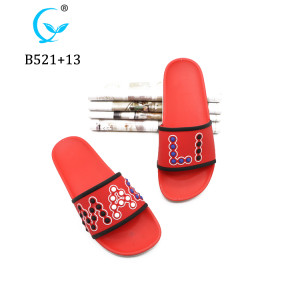 Wholesale plastic stylish man elegant pcu pvc boy slippers designs ready for sale