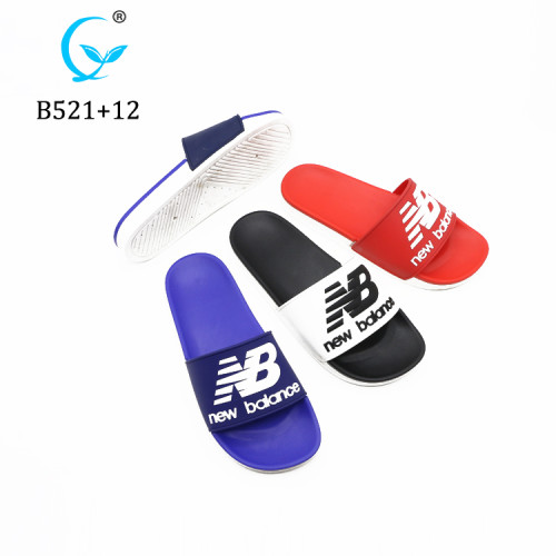 New Design High Quality Upper EVA PCU Slipper man Summer pvc shoes
