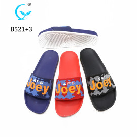 Personalize pcu men's house slipper for bangladesh