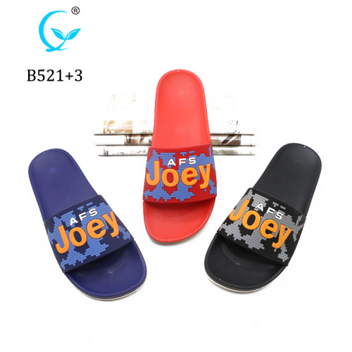 Personalize pcu men's house slipper for bangladesh