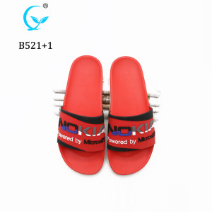 China factory Footwear New Design casual Sandal PCU Mule Slides Slipper For man