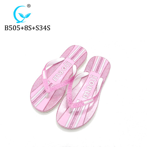 Bangladesh fancy ladies slippers twinkling flip flops thongs glimmering sandals chappal