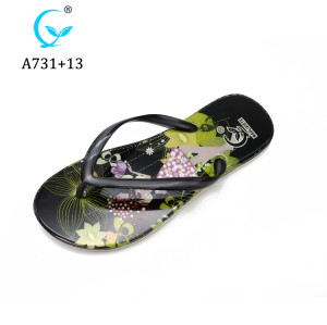Promotion Summer Beach latest new design shiny ladies women pcu slipper 2019