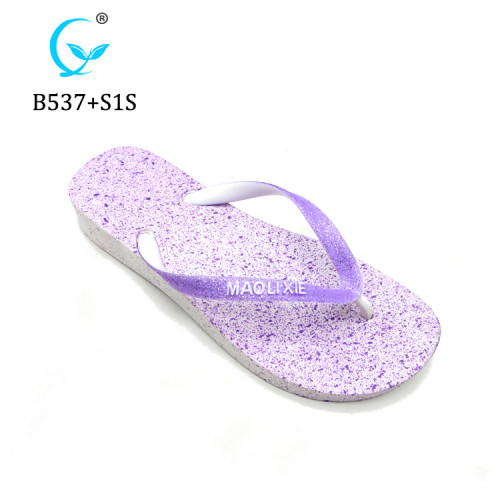 Cheap summer beach rubber bulk custom plain flip flop slipper