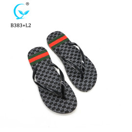 Chinese brand MLX hot brand flip flops custom washable ladies slippers