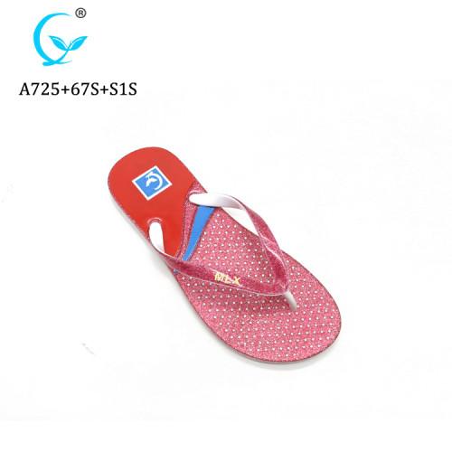 New fashion personalizde flip flops women blank sublimation beach slippers