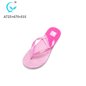 New fashion personalizde flip flops women blank sublimation beach slippers