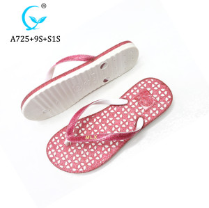 New Arrival Thongs Flip Flops Printing Custom injection Slippers For Women