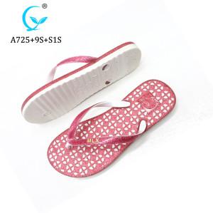 New Arrival Thongs Flip Flops Printing Custom injection Slippers For Women