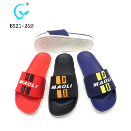 High quality men display maoli slipper for men slide sandal