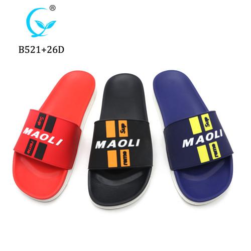 High quality men display maoli slipper for men slide sandal