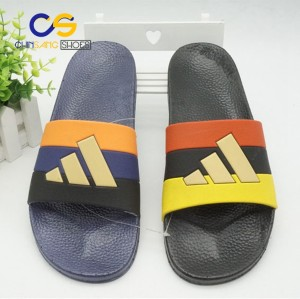2017 Popular PVC slide sandals men slipper house shoes with high quality