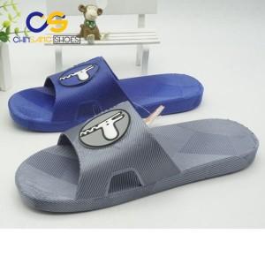 2017 fashion PVC slide casual sandals men sandals in wholesale price