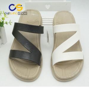2017 fashion PVC slide latest designed unisex sandals casual sandals matching sandals