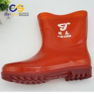 PVC men rain boots cheap wholesale rain boots easy dry rain boots durable rain boots