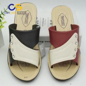 High heel ladies slipper outdoor women sandals durable summer women slipper