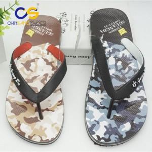 PVC men sandal durable outdoor men flip flops beach wholesale cheap summer men slipper
