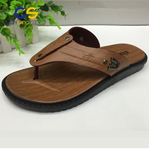 abfeec299bc0 Cheap summer men slipper durable outdoor men flip flops PVC men sandal  beach wholesale