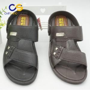 PVC men slipper durable men sandals outdoor sandals with good quality