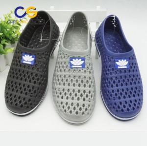 PVC men sandals close toe sandals wholesale cheap men slipper