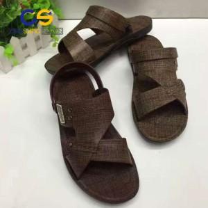 Durable men air blowing sandals wholesale price PVC men slipper outdoor sandals beach sandals