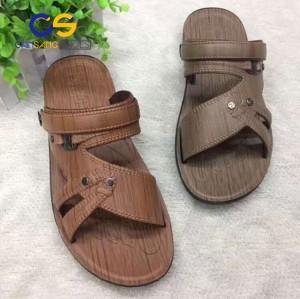 Good quality air blowing sandals wholesale price PVC men slipper outdoor sandals beach sandals