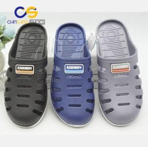 In door outdoor clogs for men PVC men clogs beach sandals casual clogs