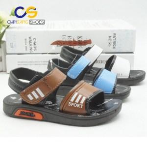Chinsang wholesale cheap boy sandals comfort kid sandals durable sandal for boy