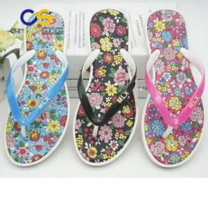 PVC women slipper air blowing slipper for women beach women flip flop