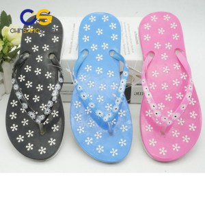 Beach women slipper PVC women flip flop air blowing slipper for women
