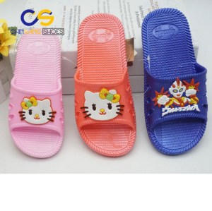 2017 top popular girls sandals casual slipper for girls with good price