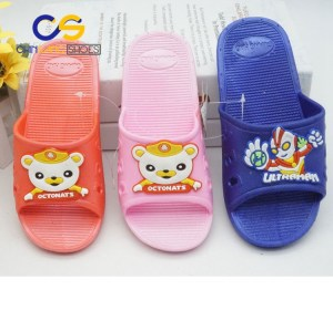 2017 wholesale cheap girls sandals casual slipper for girls with good quality