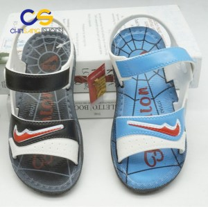 Plastic pvc air blowing teenage boys slippers sandals 2017 new arrival