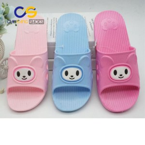 Wuchuan wholesale cheap bathroom indoor slippers for women with good quality