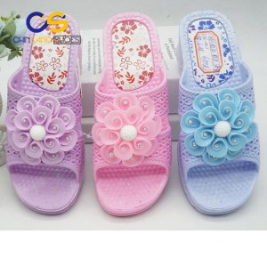 Wuchuan high heel women slippers wholesale cheap bathroom indoor slippers for women with good quality