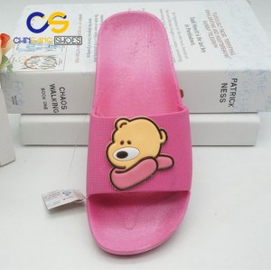 High quality PVC air blowing slippers for girls or women Summer house shoes factory price made in Wuchuan