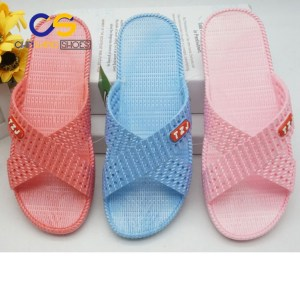 2017 Chinsang PVC air blowing slippers for girls or women factory price