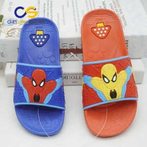 2017 top sale girls sandals casual slipper for girls and boys with good price