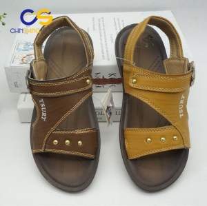 Durable PVC teenager boys sandals outdoor beach slipper for boys